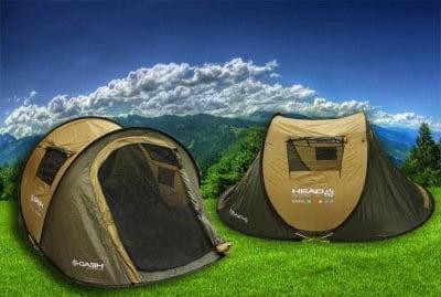 Двуместна палатка Head