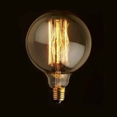 Декоративна карбонова лампа G125 Decorart