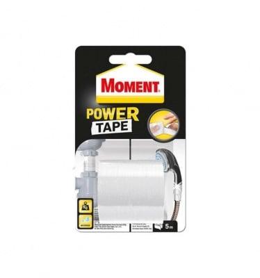 Универсална лента Power Tape бяла 5 м. - Moment