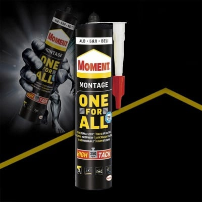 Монтажно лепило One For All High Tack 440 гр. - Moment
