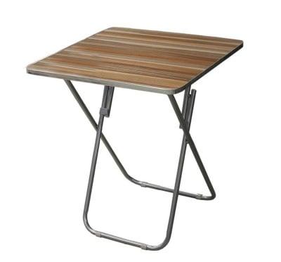 Дървена сгъваема маса 60х60 см.