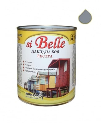 Алкидна боя si Belle Екстра млечно сива