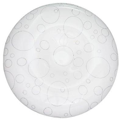 Декоративна LED плафониера 18W топла светлина