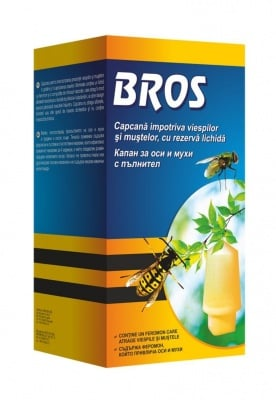 Капан за оси и мухи с пълнител Bros