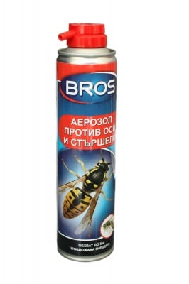 Аерозол против оси и стършели 300 мл. Bros