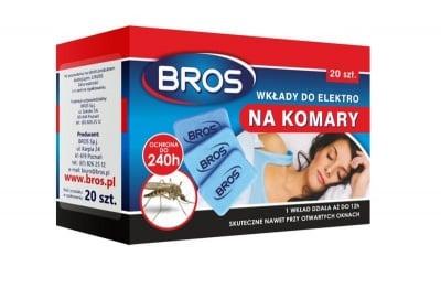 Таблетки за електрически изпарител против комари 20 бр.Bros