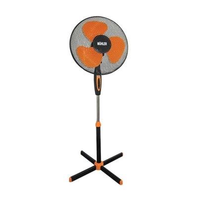 Вентилатор със стойка Muhler черно + оранж