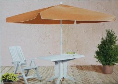 Градински чадър  - оранжев