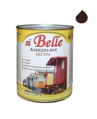 Алкидна боя si Belle Екстра тъмно кафява