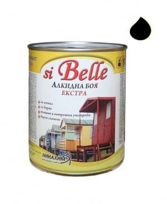 Алкидна боя si Belle Екстра черна