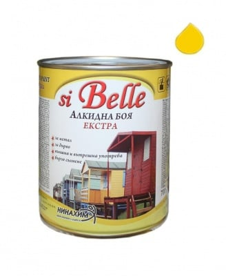 Алкидна боя si Belle Екстра жълта