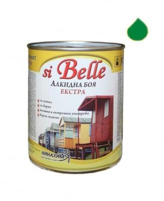 Алкидна боя si Belle Екстра зелена