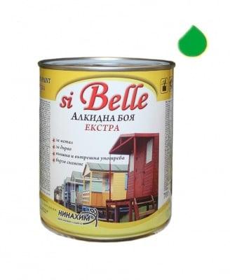 Алкидна боя si Belle Екстра светло зелена