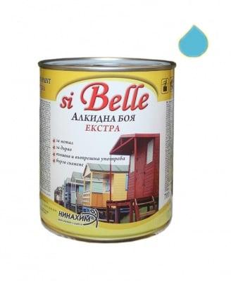 Алкидна боя si Belle Екстра небесно синя
