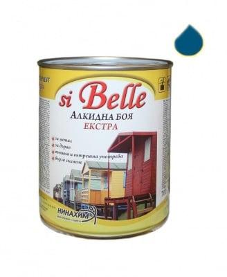 Алкидна боя si Belle Екстра синя