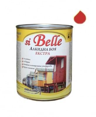 Алкидна боя si Belle Екстра червена