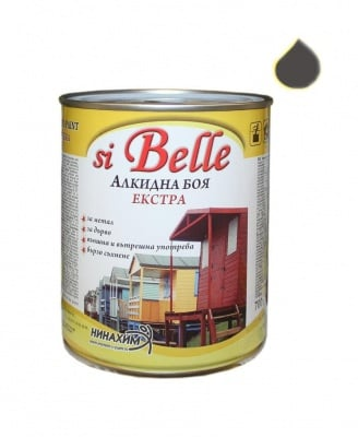 Алкидна боя si Belle Екстра светло сива