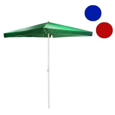 Градински чадър квадрат - три цвята