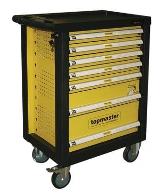 Количка за инструменти със 7 чекмеджета, 220 части
