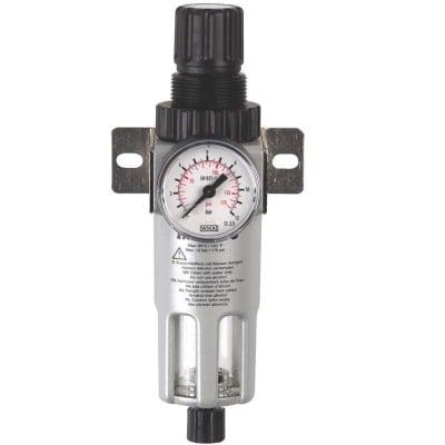 Кондензоотделител 1/4 за компресор редуцир вентил и манометър  FR-180 - GAV
