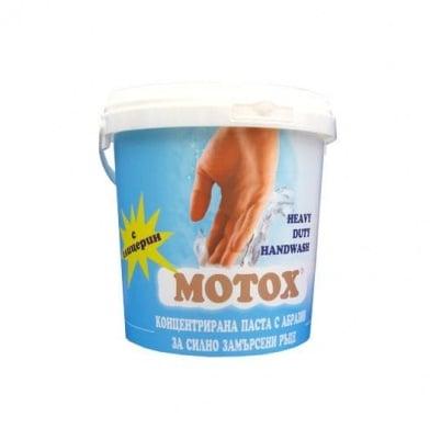 Паста за силно замърсени ръце 1.5 кг.  Motox