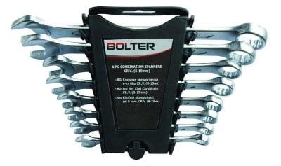 Комплект звездогаечни ключове 8-19 мм. 8 бр. - Bolter