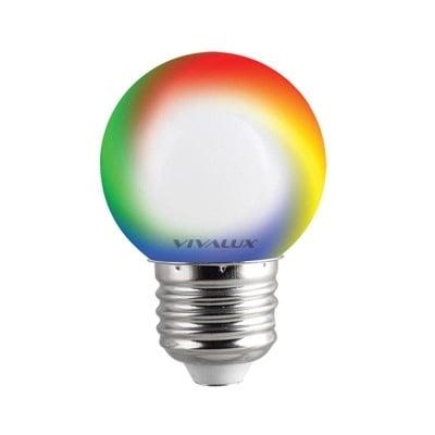 LED лампа Colors LED - CL 0,5W G45 RGB Vivalux