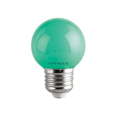 LED лампа Colors LED - CL 1W G45 GREEN Vivalux