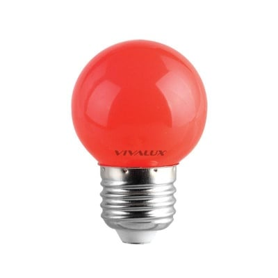 LED лампа Colors LED - CL 1W G45 RED Vivalux
