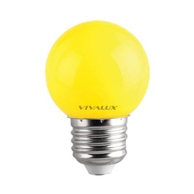 LED лампа Colors LED - CL 1W G45 YELLOW Vivalux