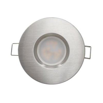 LED луна за вграждане 6.5W никел - Ultralux