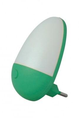 Мини нощна лампа - зелена Vito