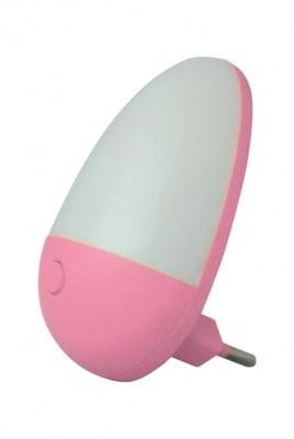 Мини нощна лампа - розова Vito