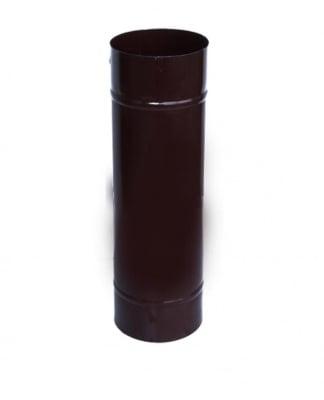 Емайлиран кюнец Ф130 кафяв 25 см. - Рекор