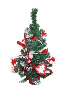 Коледна елха с украса