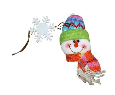 Коледна украса Снежен човек