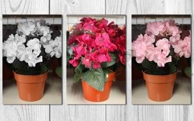 Изкуствено цвете хортензия