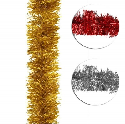 Коледен гирлянд 11 см. - различни цветове