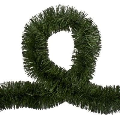 Коледна украса гирлянд - зелен