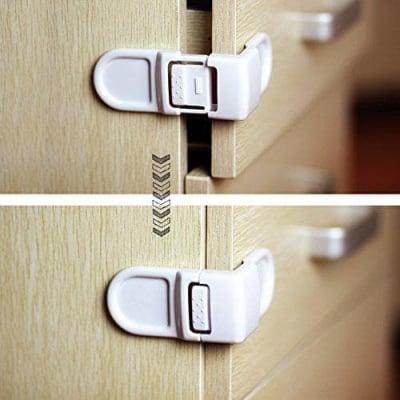 Ъглово заключване за шкафове