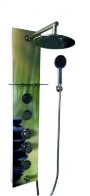 """Стъклен хидромасажен панел """"Емона"""" Inter Ceramic"""