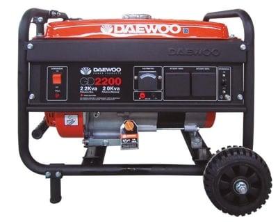 Бензинов генератор GD2200 Daewoo