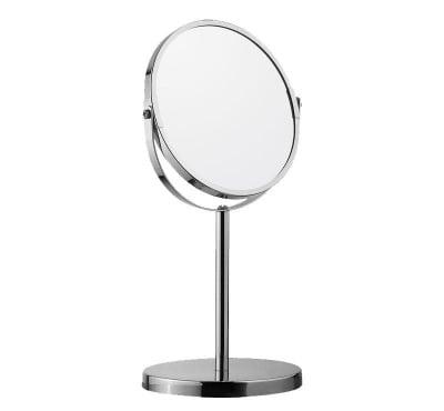 Козметично двустранно огледало със стойка