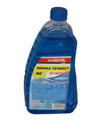 Зимна течност за чистачки -60 C° Marеnol