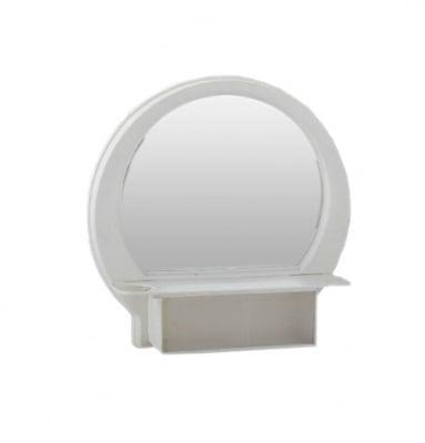 Огледален PVC шкаф за баня