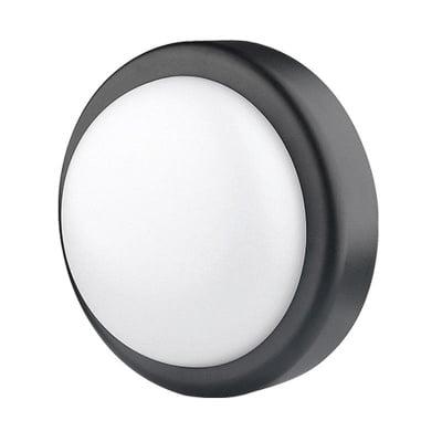 LED плафониера 14W кръг- черна Ultralux