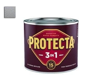 Боя Протекта 3 в 1 сив металик 2.5 л. - Оргахим