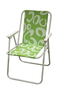 Сгъваем стол - зелен