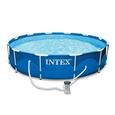 Басейн  с метална рамка Intex  366x76 см.