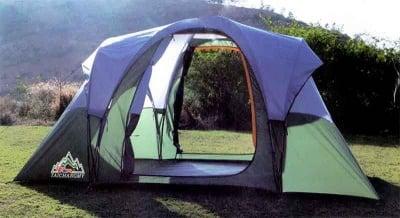 Шестместна палатка
